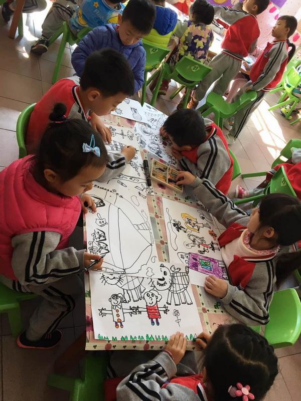 新学期 新气象 —记樟木头镇蓓蕾幼儿园开学第一天