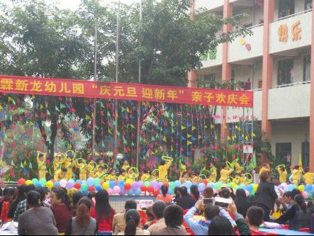 新龙幼儿园中班级2016年